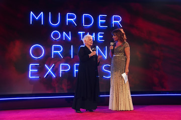 Dame Judy Dench 'Murder on the Orient Express' World Premiere - Red Carpet Arrivals