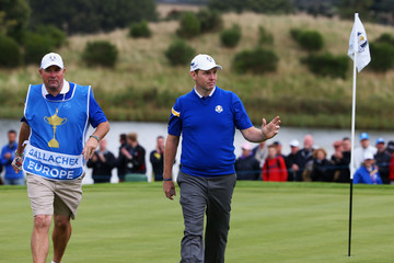 Damian Moore Singles Matches - 2014 Ryder Cup