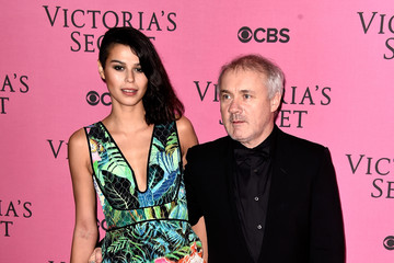 Damien Hirst Arrivals at the Victoria's Secret Fashion Show — Part 2