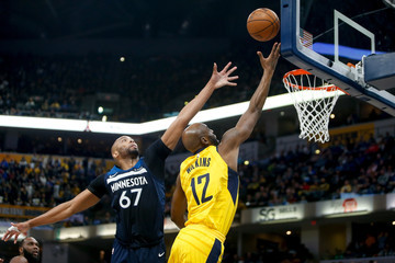 Damien Wilkins Minnesota Timberwolves v Indiana Pacers