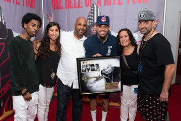 Damon Williams Chris Brown Named Music Choice Icon