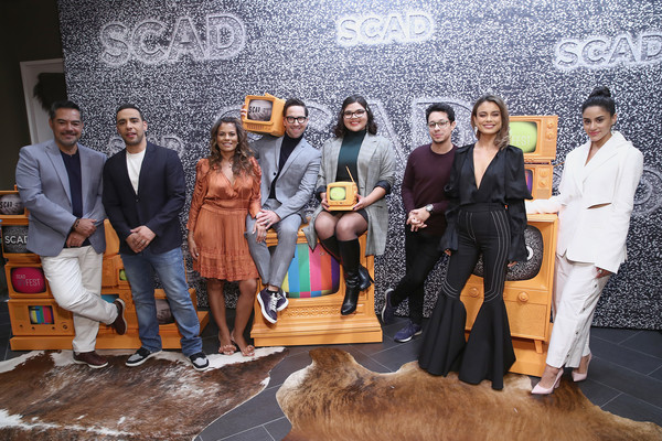 "SCAD aTVfest 2020 - ""The Bold Type"" [the bold type,social group,youth,community,event,fun,leisure,team,art,carlos g\u00e33mez,victor rasuk,belissa escobedo,david del rio,lisa vidal,dan bucatinsky,michelle veintimilla,panel,scad atvfest,fashion,public relations,socialite,public]"
