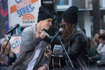Dan Kanter Justin Bieber Performs on NBC's 'Today'