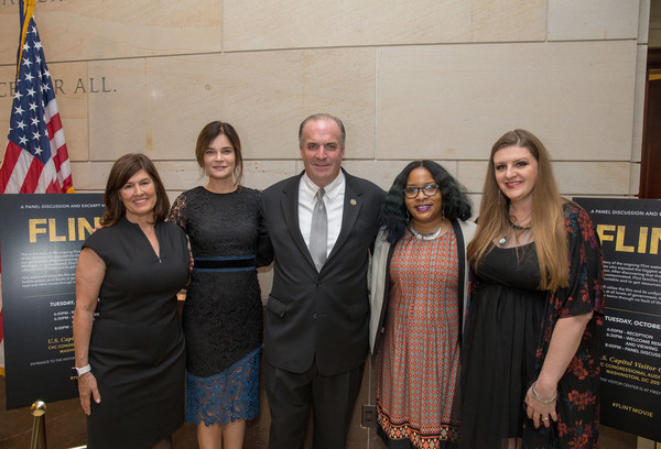 Lifetime Panel Discussion With Congressman Dan Kildee, 'Flint' Cast and Executive Producer and Flint Residents