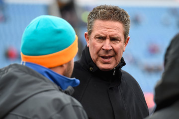 Dan Marino Miami Dolphins v Buffalo Bills