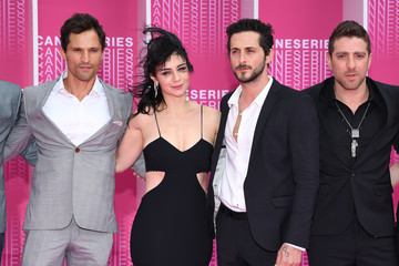 Dan Mor 'Killing Eve' and 'When Heroes Fly' Pink Carpet Arrivals - The 1st Cannes International Series Festival