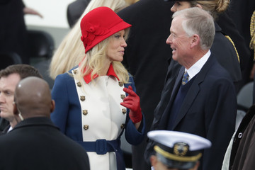 Dan Quayle Donald Trump Is Sworn In As 45th President Of The United States
