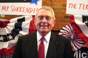 Dan Rather 'The Terms of My Surrender' Broadway Opening Night - Arrivals & Curtain Call