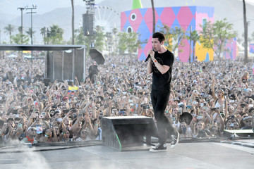 Dan Smith 2017 Coachella Valley Music and Arts Festival - Weekend 1 - Day 2