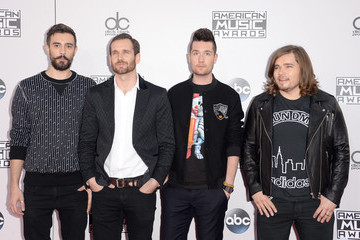 Dan Smith Chris 'Woody' Wood Arrivals at the American Music Awards — Part 3