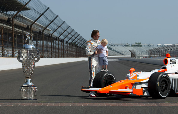 Indianapolis 500 Mile Race Champions Portrait Session