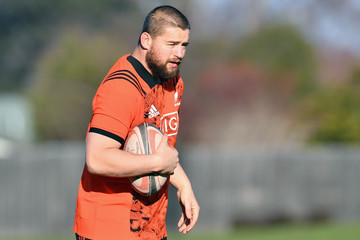 Dane Coles New Zealand All Blacks Training Session