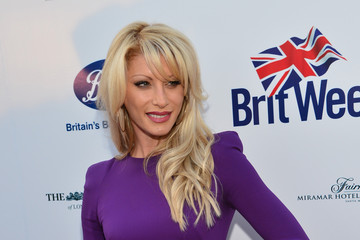 Dani Behr Arrivals at the BritWeek Launch Party