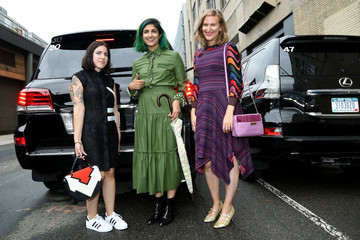 Dani Stahl Lexus Arrivals at New York Fashion Week: The Shows