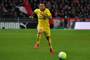 Daniel Alves Stade Rennes v Paris Saint Germain - Ligue 1