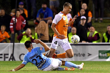 Daniel Bowles FFA Cup Rd Of 32 - Brisbane Roar vs. Melbourne City