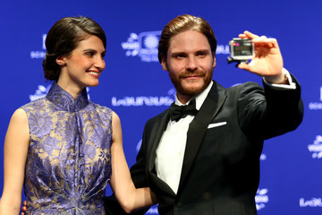 Daniel Bruhl Arrivals at the Laureus World Sports Awards