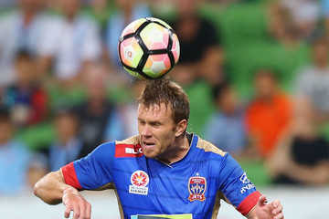 Daniel Mullen A-League Rd 23 - Melbourne v Newcastle