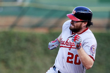Daniel Murphy Divisional Round - Washington Nationals v Chicago Cubs - Game Three
