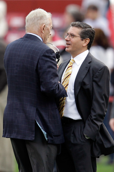 Daniel Snyder and Jerry Jones