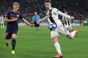 Daniel Wass Juventus Vs. Valencia - UEFA Champions League Group H