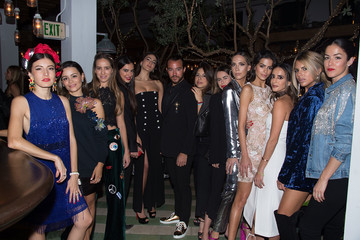 Daniela Botero Sir Philip Green Hosts Dinner In Celebration Of Topshop Topman Miami Store Opening