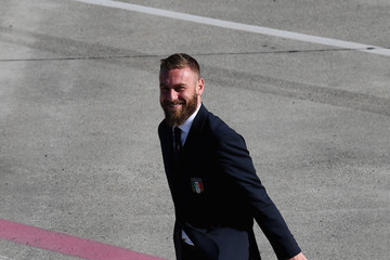 Daniele De Rossi Italy Travels To Amsterdam