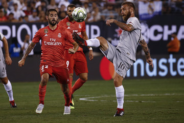 Daniele De Rossi Real Madrid v AS Roma - International Champions Cup 2018