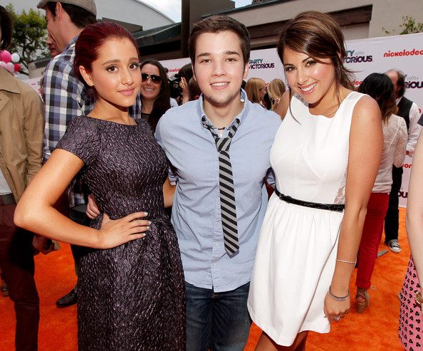 "Nickelodeon ""iParty With Victorious"" Premiere - Orange Carpet"