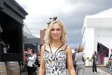 Danielle Spencer Celebrities Attend Derby Day