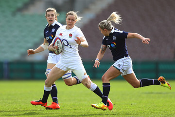 Danielle Waterman England Red Roses v Scotland Women - RBS Six Nations