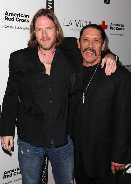 donal logue tattoos. Danny Trejo and Donal Logue