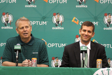 Danny Ainge Boston Celtics Introduce Brad Stevens