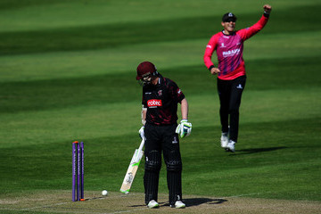 Danny Briggs Somerset Vs. Sussex - Royal London One-Day Cup