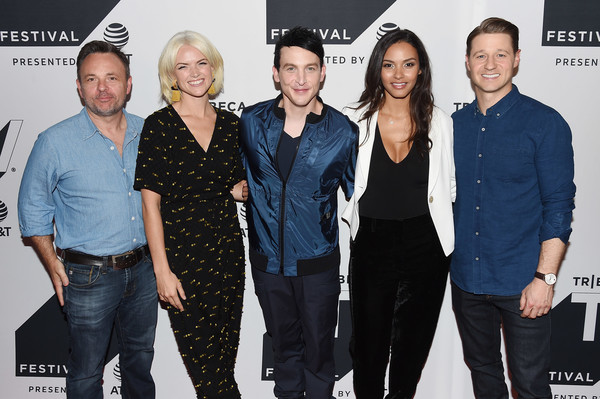 Tribeca TV Festival Sneak Peek of 'Gotham' [danny cannon,taylor,jessica lucas,erin richards,robin,ben mckenzie,sneak peek of gotham,l-r,sneak peek,event,premiere,fashion,performance,tribeca tv festival]