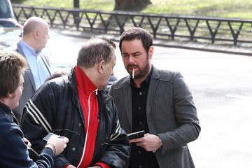 Danny Dyer Arrivals at the TRIC Awards
