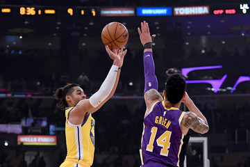 Danny Green Golden State Warriors vs Los Angeles Lakers
