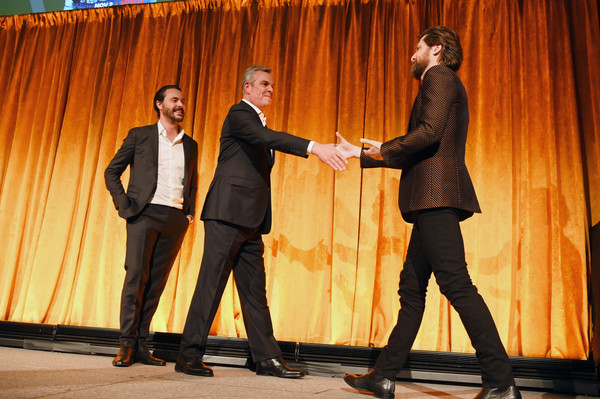 The National Board Of Review Annual Awards Gala - Inside [national board of review annual awards,national board of review annual awards gala,event,performance,talent show,suit,fun,performing arts,gesture,formal wear,stage,heater,new york city,cipriani 42nd street,danny huston,jack huston,filip jan rymsza]