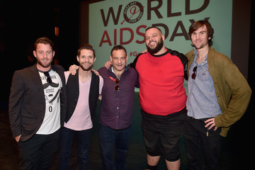 Danny Pintauro The Elizabeth Taylor AIDS Foundation and the Charlize Theron Africa Outreach Project Co-host A Special #GenEndIt Sex Squad Performance At UCLA For World AIDS Day