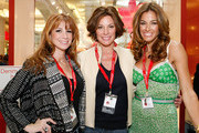 "(L-R) From ""The Real Housewives of New York City"" Jill Zarin, Countess LuAnn de Lesseps and Kelly Bensimon celebrate Earth Week at the Goodwill Denim Drive at JCPenney on April 24, 2010 in New York City."