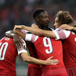 Danny Welbeck Qarabag FK v Arsenal - UEFA Europa League - Group E