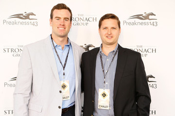 Danny Williams The Stronach Group Owner's Chalet At 143rd Preakness Stakes