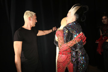 Daphne Guinness The Blonds - Backstage - February 2018 - New York Fashion Week: The Shows