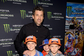 Darby Dempsey Monster Energy Supercross Celebrity Night at Angel Stadium Anaheim