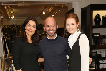 Darby Stanchfield Bellamy Young Brooks Brothers Celebrates the Holidays With St. Jude Children's Research Hospital