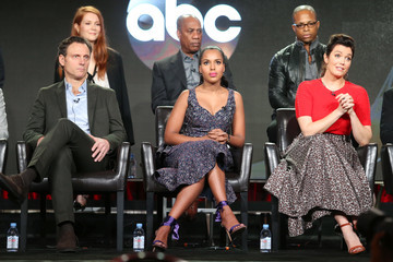 Darby Stanchfield Bellamy Young 2017 Winter TCA Tour - Day 6