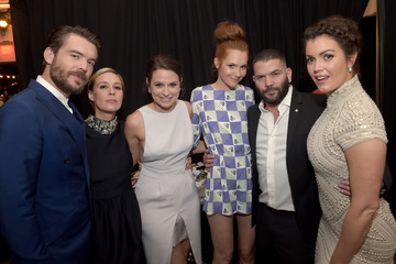Darby Stanchfield Katie Lowes Celebration of ABC's TGIT Line-up Presented by Toyota and Co-hosted by ABC