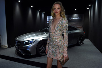 Daria Strokous Mercedes-Benz At amfAR Milano 2014 - Milan Fashion Week Womenswear Spring/Summer 2015
