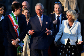 Dario Nardella The Prince of Wales and Duchess of Cornwall Visit Italy - Day 2