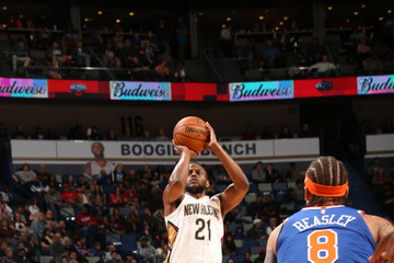 Darius Miller New York Knicks v New Orleans Pelicans